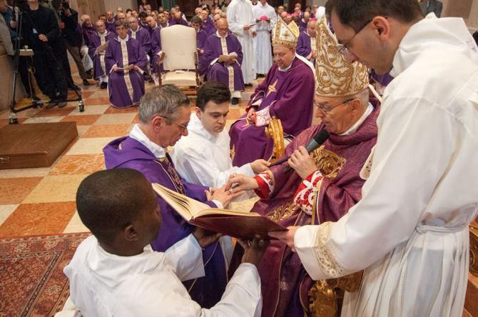 ordinazione vescovo daniele