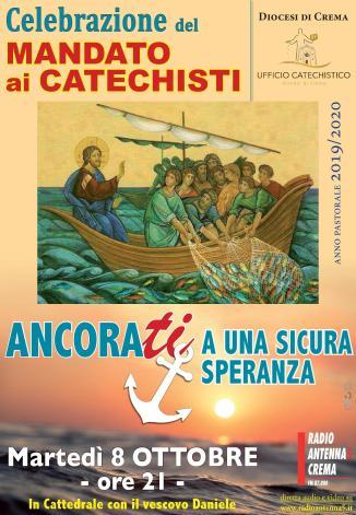 Locandina Mandato Catechisti 8 ott 2019